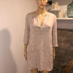 Cloth & stone boyfriend shirt dress size XSmall